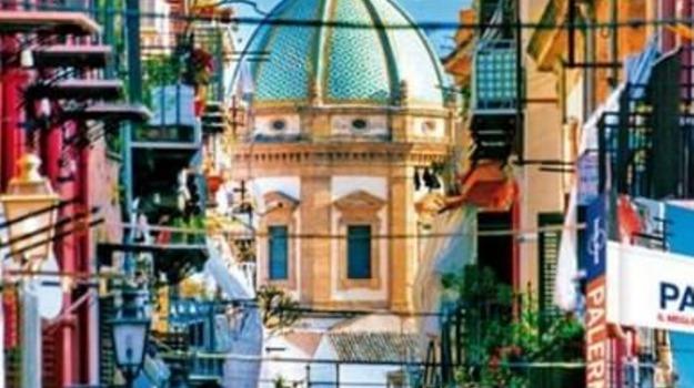 città, guida, Palermo, Società