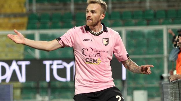 Calcio, frattura, palermo calcio, SERIE A, Luca Rigoni, Palermo, Calcio