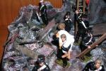 Soldatini in mostra per ricordare il terremoto di Messina