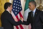 """Incontro Renzi-Obama, un asse sulla crescita alla Casa Bianca: """"Il premier è sulla strada giusta"""""""