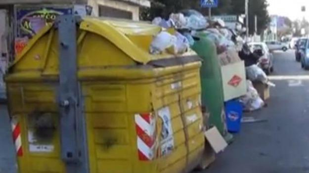 canicattì, immondizia, rifiuti, Agrigento, Catania, Cronaca