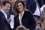 Alena Seredova allo stadio con il suo nuovo amore... e Buffon in porta sta a guardare - Video