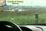 Ecco l'aereo dell'avvocato palermitano che avrebbe evaso le tasse - Video