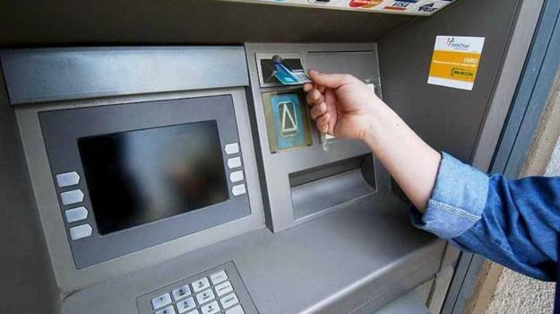 banca, bancomat, furto, Messina, Cronaca