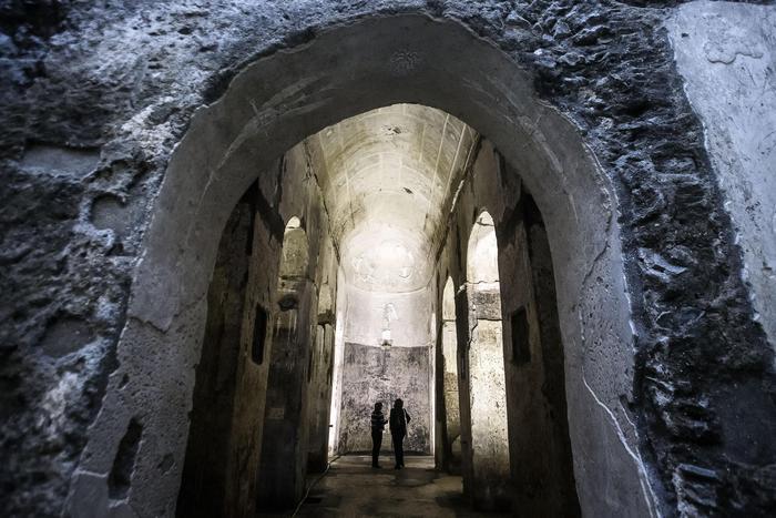 Il mistero si svela la basilica sotterranea di roma apre - Rome porta maggiore ...