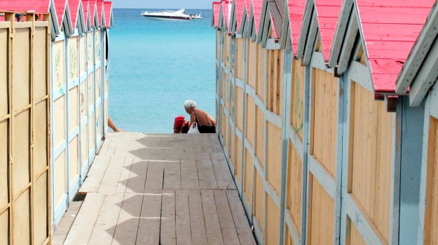 cabine, estate, mare, spiaggia, Palermo, Cronaca