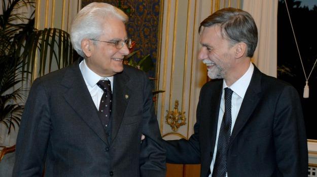 giuramento, ministro Infrastrutture, Graziano Delrio, Sicilia, Politica