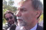 """Delrio sul viadotto Himera: """"Bretella stradale per ridurre i disagi in 3 mesi"""" - Video"""