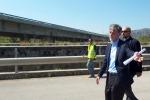 Il ministro Delrio: «Un leggero ritardo sull'autostrada. Ma 40 anni di incuria»