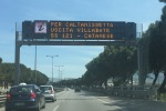Da Palermo verso Catania tutte le strade alternative