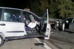 Incidente nella notte sulla Palermo-Sciacca: cinque persone rimangono ferite, due sono gravi