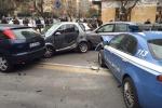 Incidente in viale Lazio, coinvolta un'auto della polizia