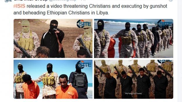 cristiani, esercito islamico, Isis, terrorismo, Sicilia, Archivio