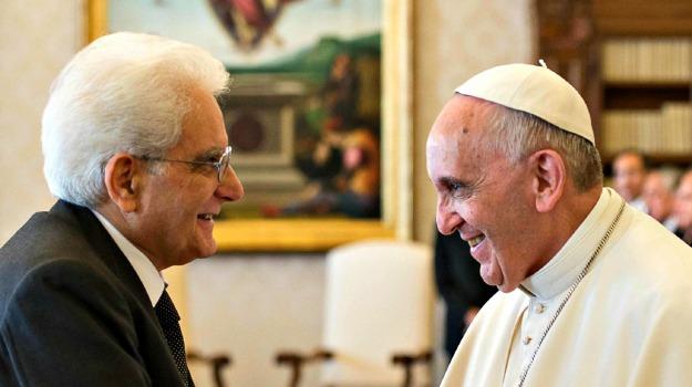 Pasqua, Papa Francesco, Sergio Mattarella, Sicilia, Politica