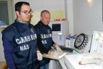 Reagenti scaduti, sequestrato un laboratorio d'analisi a Palermo