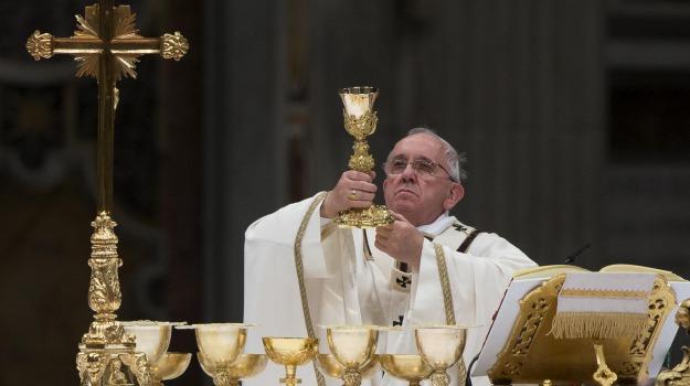 pace, papa, Pasqua, Papa Francesco, Sicilia, Cronaca