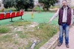 Sciacca, «il parco giochi devastato dopo nove mesi»
