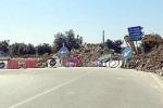 Il ponte sul fiume Cassibile chiuso: è protesta