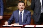 """Matteo Renzi rassicura il Paese: """"Basta sacrifici e nuove tasse. L'Italia adesso può ripartire"""""""