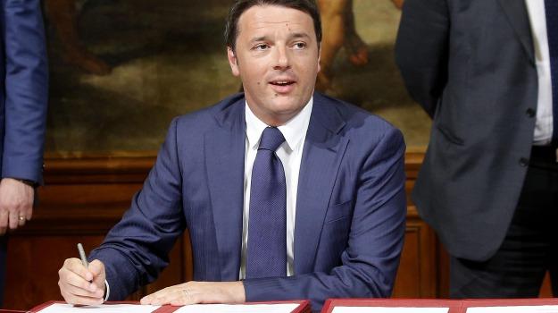 expo, italicum, legge elettorale, premier, presidente del consiglio, Matteo Renzi, Sicilia, Politica