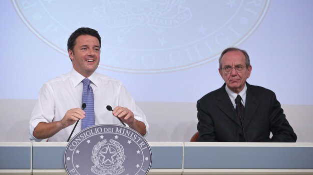 manovra, Beatrice Lorenzin, Matteo Renzi, Pier Carlo Padoan, Sicilia, Economia