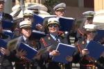 La Corale della Polizia Municipale si esibisce al Teatro Massimo - Video