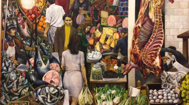 expo milano, La vucciria, quadro, Renato Guttuso, Palermo, Cultura