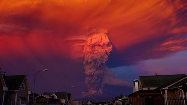 eruzione, evacuazione, vulcano, Sicilia, Mondo