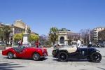 Sfilata di auto storiche, oggi e domani Favorita chiusa alle auto - Video