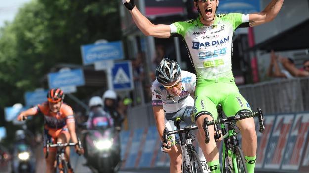 Giro, maglia rosa, Sicilia, Sport