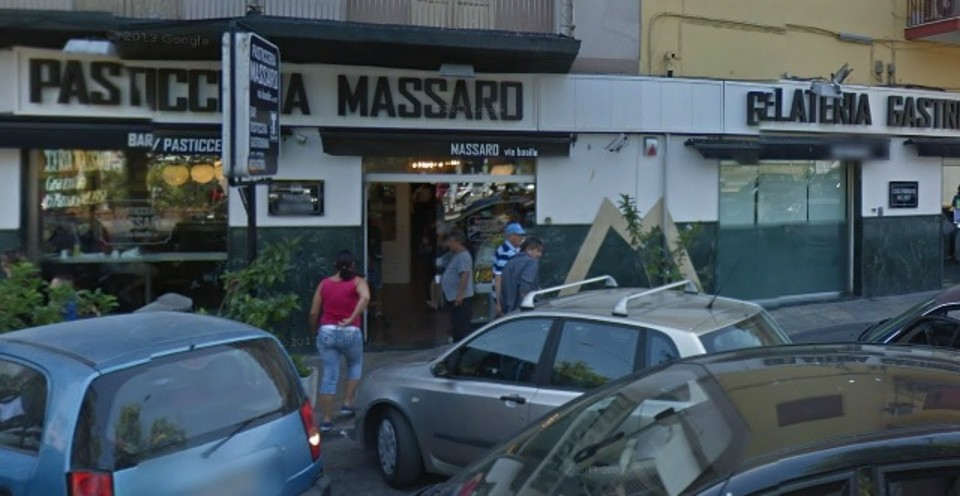 Il Bar Massaro di via Ernesto Basile