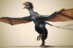 Volava tra gli alberi, ecco il primo dinosauro-pipistrello