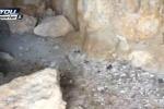 Sciacca, all'interno di una delle grotte vaporose di San Calogero