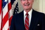 Secondo indiscrezioni George H. W. Bush voterà per Clinton