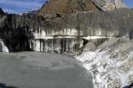 Cala la superficie dei ghiacciai italiani: meno 30 per cento