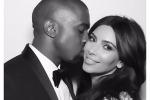 Su Instagram le foto del fastoso banchetto: Kim Kardashian festeggia così il suo primo anno di nozze