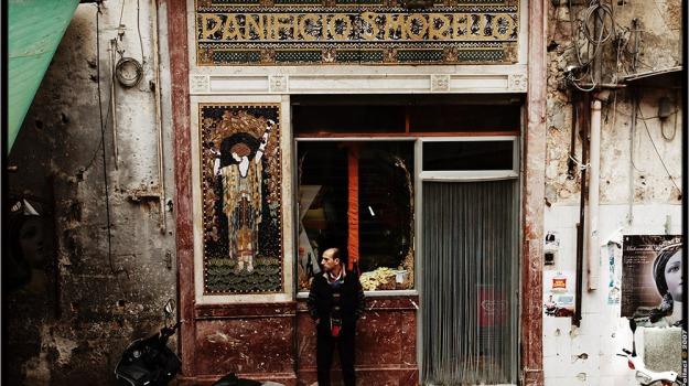 mosaico, restauro, Palermo, Società