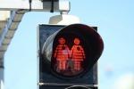 Novità a Vienna: installati semafori con le coppie gay - Foto