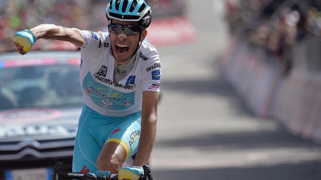 ciclismo, giro d'italia, maglia rosa, tappa, Alberto Contador, Fabio Aru, Sicilia, Sport