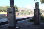 L'autovelox nel ponte Bonagia (Foto Maddalena)