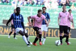 L'attaccante del Palermo, Andrea Belotti