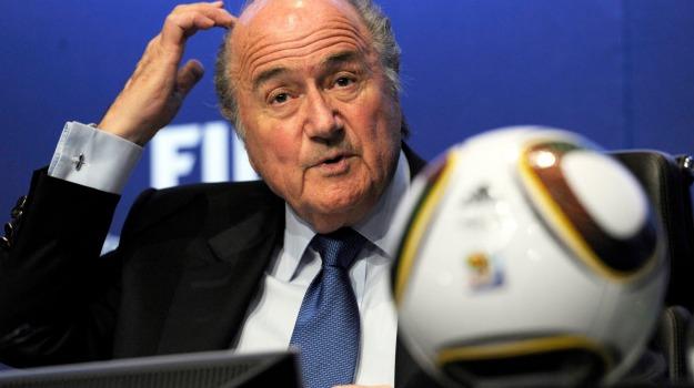Calcio, fifa, mondiali, Sepp Blatter, Sicilia, Mondo