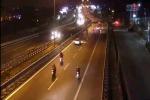Corse clandestine lungo l'autostrada Denunciati venti motociclisti