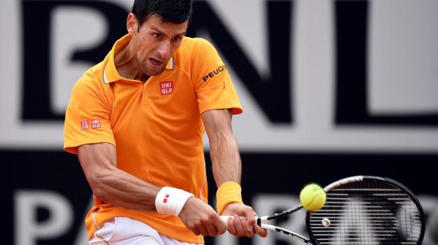 Atp, internazionali roma, Tennis, Novak Djokovic, Roger Federer, Sicilia, Sport