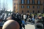 Una precedente protesta degli ex Pip a Palermo