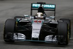 Prima pole di Hamilton a Montecarlo, Vettel è terzo