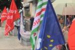 Protestano a Palermo i dipendenti delle ex Province