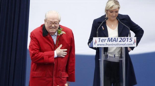 francia, front naional, Marine le Pen, Sicilia, Mondo