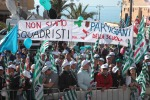 Primo maggio dedicato a lavoratori e migranti a Pozzallo. Camusso: dal governo solo propaganda