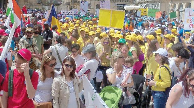 marcia della pace, solidarietà, Ragusa, Cronaca